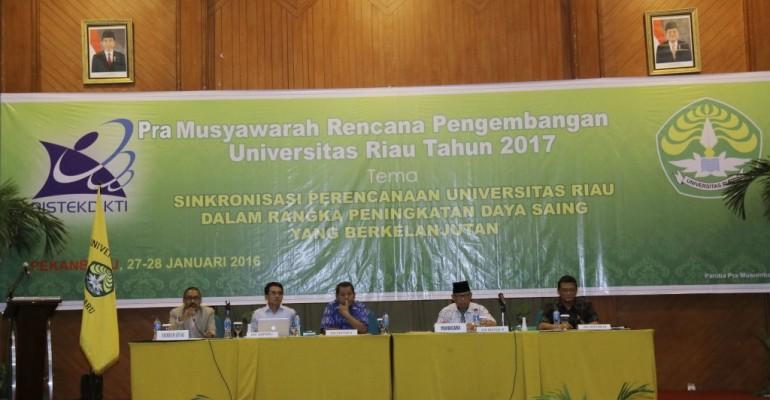 pemaparan program kerja wakil rektor UR