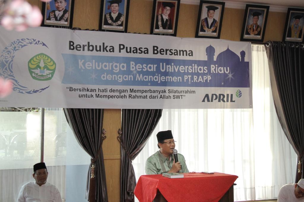 sambutan Rektor UR