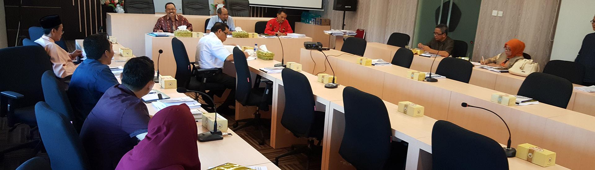 rapat koordinasi tim reformasi birokrasi universitas riau
