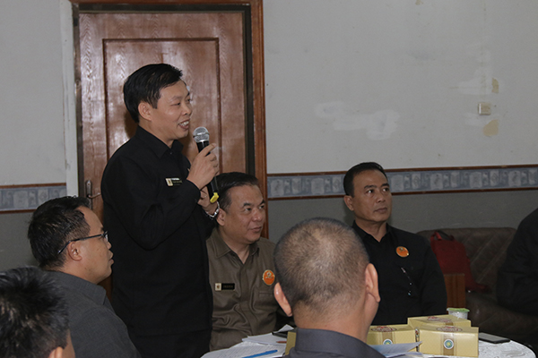 Salah sorang peserta Studi Strategi Dalam Negeri (SDDN) Reguler angkatan 56 Lemhanas RI, yang berasal dari negara Vietnam