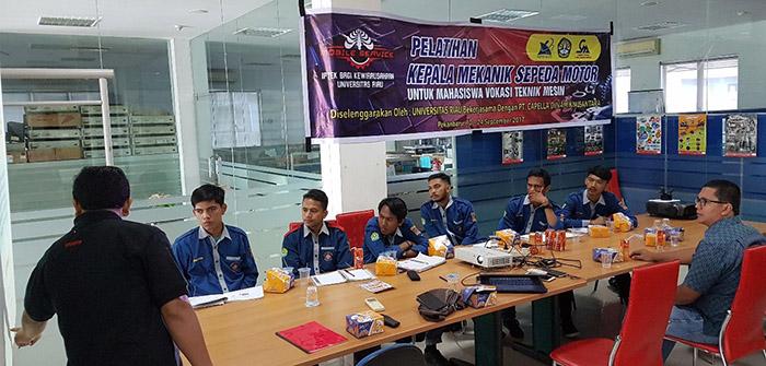 Universitas Riau Dan Capella Honda 88 Pekanbaru Bersinergi