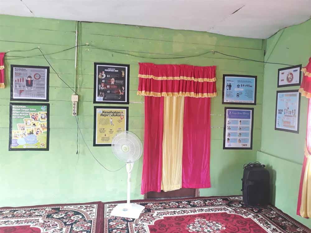 pelaksanaan KKN Unri 2018 di desa 01