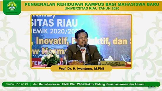 Prof. Dr. Iwantono, M.PHil (Sumber: HUMAS Universitas Riau)