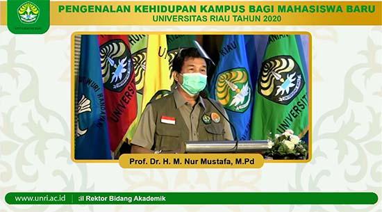 Prof.Dr. M. Nur Mustafa, M.Pd (Sumber: HUMAS Universitas Riau)