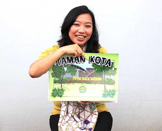 """Kembangkan Literasi Kelas Awal, Dosen UNRI Terbitkan """"Big Book"""" (Sumber: HUMAS Universitas Riau)"""