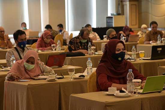 """""""Workshop"""" Persamaan Persepsi Validasi Data pada PDDIKTI (Sumber: HUMAS Universitas Riau)"""