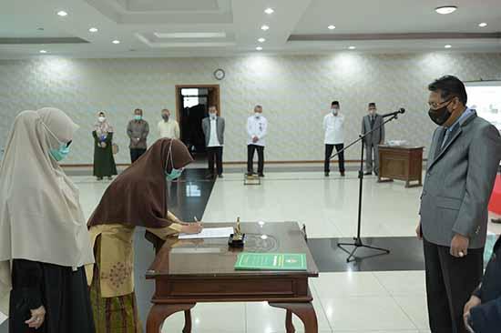 Implementasikan Peran ASN Melalui Kebijakan dan Pelayanan Publik Profesional (Sumber: HUMAS Universitas Riau)