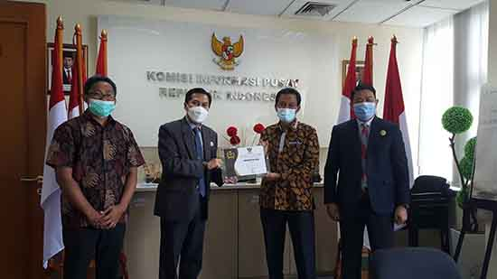 PENYERAHAN ANUEGERAH KIP KEPADA UNRI (Sumber: HUMAS Universitas Riau)