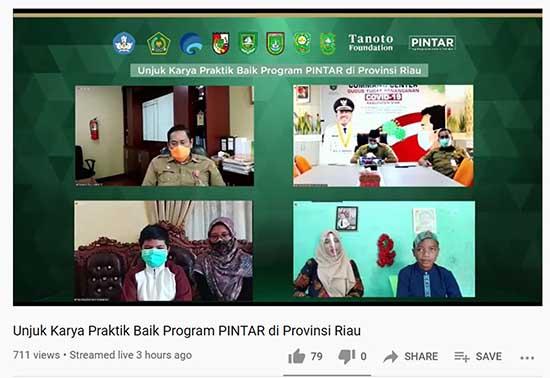 Giatkan Diseminasi Penyediakan Pembelajaran Berkualitas (Sumber: HUMAS Universitas Riau)