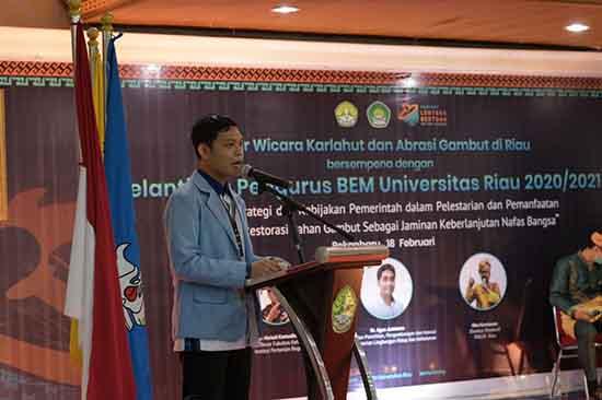 BEM Adalah Wadah Pengembangan Kreatifitas (Sumber: HUMAS Universitas Riau)