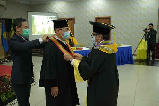 Kolaborasi Ilmu Menjadi Solusi Dalam Menyelesaikan Persoalan (Sumber: HUMAS Universitas Riau)