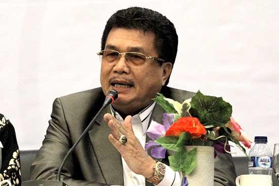 Prof. Dr. M Nur Mustafa M.Pd Wakil Rektor Bidang Akademik Unri (Sumber: HUMAS Universitas Riau)