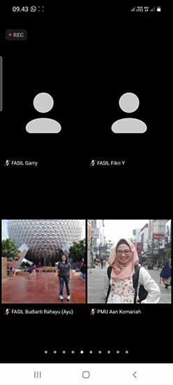 Bekerja Dengan Media Secara Efektif (Sumber: HUMAS Universitas Riau)