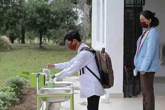 """Semester Genap 2020-2021, UNRI Laksanakan """"KBM Hybrid"""" (Sumber: HUMAS Universitas Riau)"""
