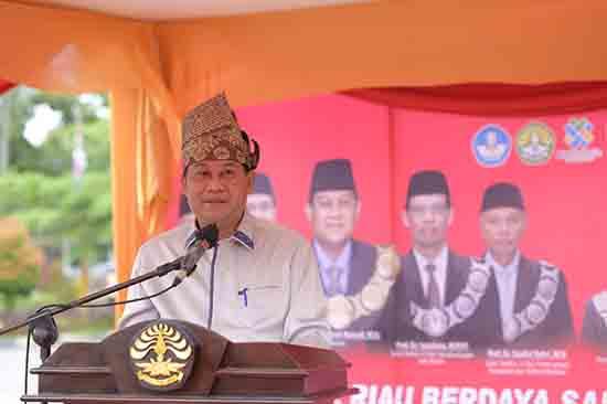 Aksi Nyata UNRI Sebagai Bagian Dari Penggerak Transformasi Bangsa (Sumber: HUMAS Universitas Riau)